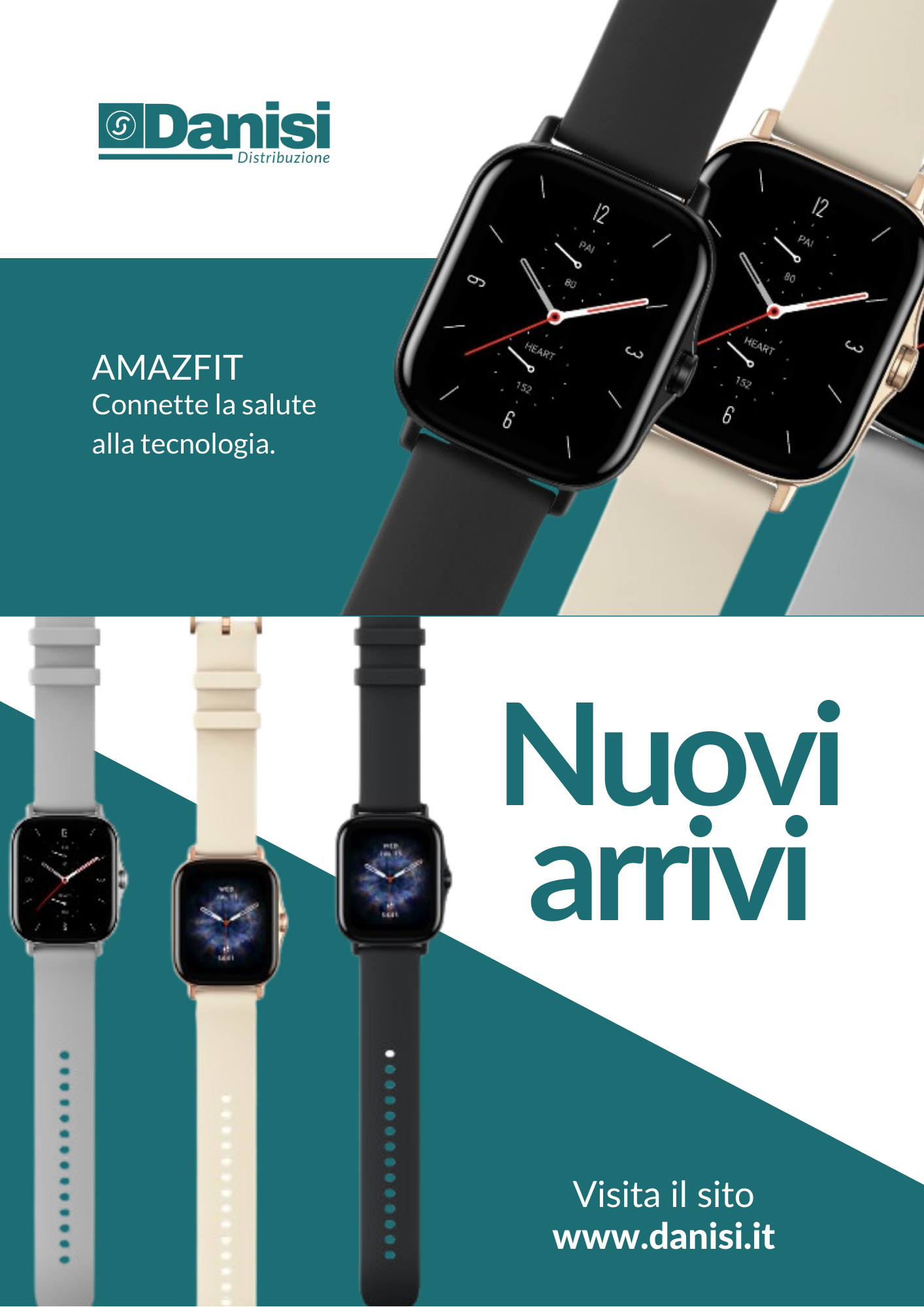 Nuovi Smartwatch Amazfit